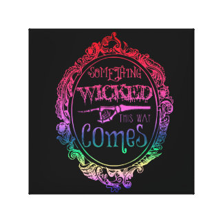 Something Wicked This Way Comes Rainbow Wall Art