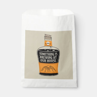 Something's Brewing Halloween Favor Bags