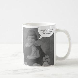 Sometimes having a bad hair day... coffee mug
