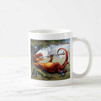Sometimes the Dragon Wins Coffee Mug