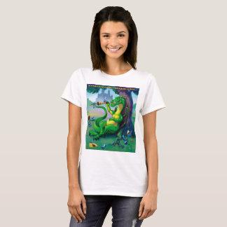Sometimes the Dragon wins - Green T-Shirt
