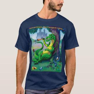 Sometimes the Dragon Wins Green T-Shirt
