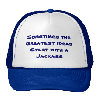 Sometimes the Greatest Ideas Hat