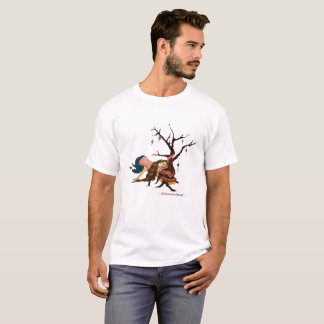 """Somewhat Portable Christmas Tree"" White T-Shirt"