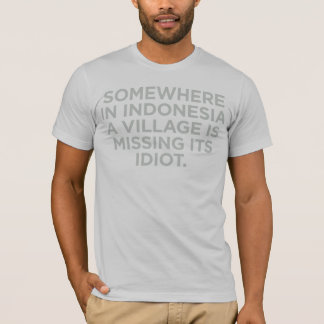 Somewhere in Indonesia Shirt