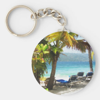 Somewhere in paradise key ring