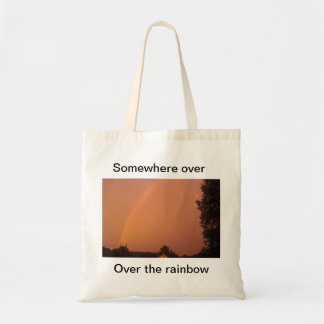Somewhere over, Over the rainbow Tote Bag
