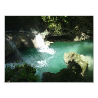 Somserset Falls Jamaica Photo Print