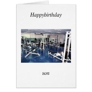 son' birthday card