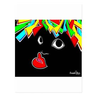 Son de negro postcard