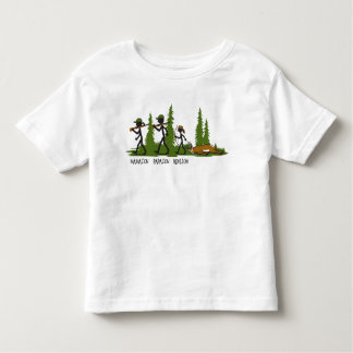 Son Family Hunting Kid's T-shirt