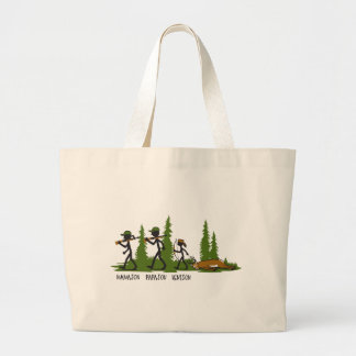Son Family Hunting Tote Bag