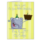Son In Law Eat More Cake 40th Birthday Card