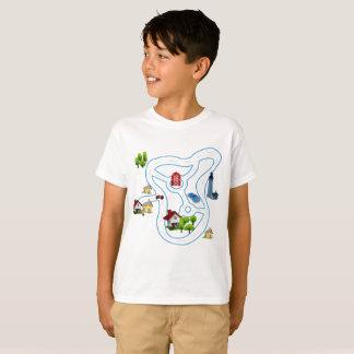 Son matching set. Car track T-Shirt