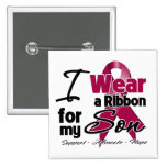 Son - Multiple Myeloma Ribbon Buttons