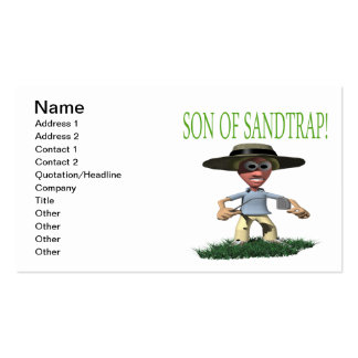 Son Of A Sandtrap Pack Of Standard Business Cards
