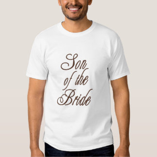 Son of Bride Classy Browns T Shirts