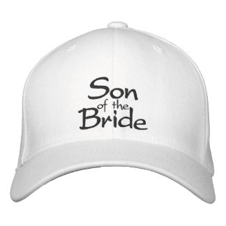 Son of the Bride Embroidered Wedding Cap Embroidered Baseball Cap