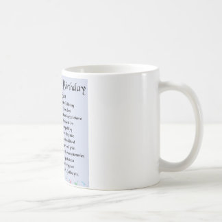 Son Poem  - 40th Birthday Design Basic White Mug