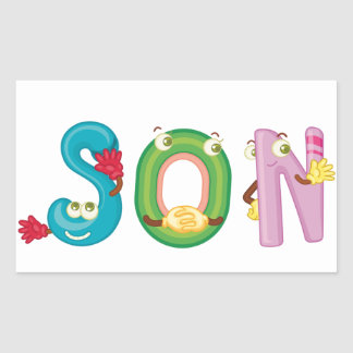 Son Sticker