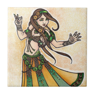 Sona Belly Dancer Tile