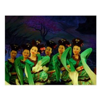 Song and Dance of Tang Dynasty Postcard