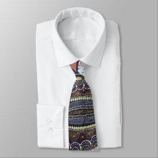 Song Lines Aboriginal Tie