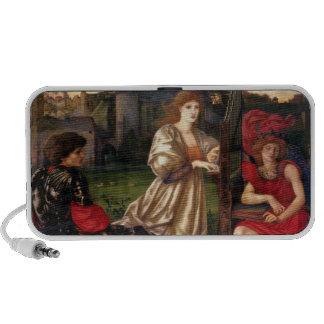 Song of Love - Edward Burne-Jones Travel Speakers