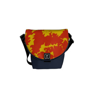 Song of nature - Sunset Messenger Bags