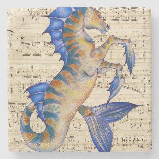 Song of Ocean Stone Coaster
