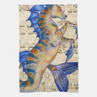 Song of Ocean Tea Towel