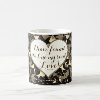Song of Solomon 3:4 Bible Verse, Heart Coffee Mug