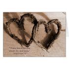 Song of Solomon Verse I love you Card