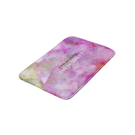 Song of Songs chapitre 7 Bath Mat