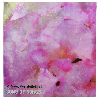 Song of Songs chapitre 7 Napkin