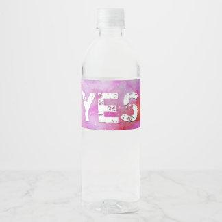 Song of Songs chapitre 7 Water Bottle Label
