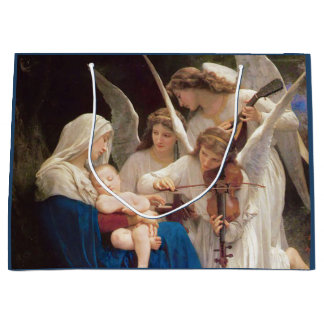 Song of the Angels Christmas Large Gift Bag
