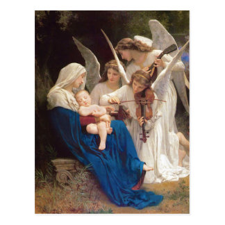 Song of the Angels Christmas Postcard
