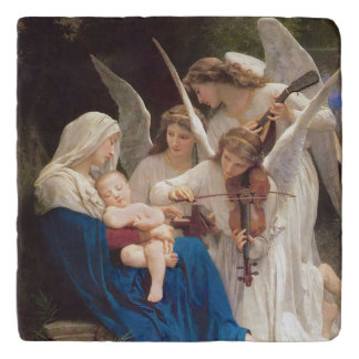Song of the Angels Christmas Trivet