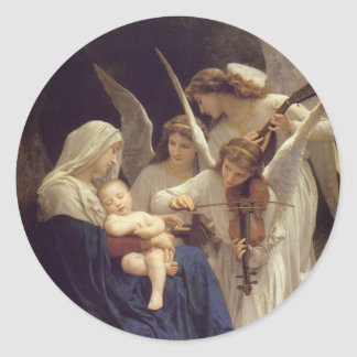 Song of the Angels Classic Round Sticker