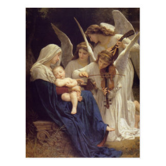 Song of the Angels Postcard
