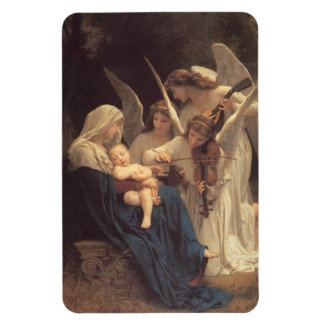Song of the Angels Rectangular Photo Magnet