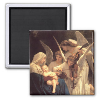 Song of the Angels Square Magnet