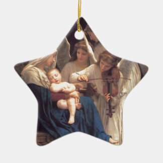 Song of the Angels - William-Adolphe Bouguereau Ceramic Ornament