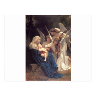 Song of the Angels - William-Adolphe Bouguereau Postcard