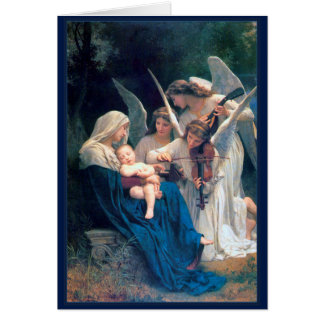 Song of the Angels William Bouguereau Fine Art Card