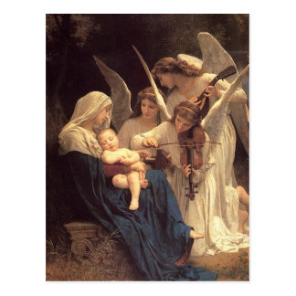 Song of the Angles Baby Jesus Christmas Postcard