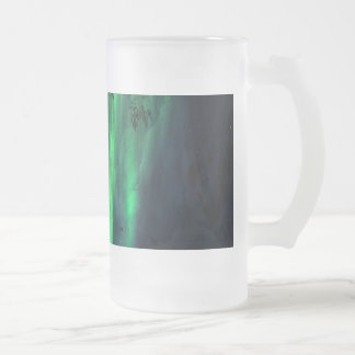 Song of the Mountain Frosted Glass Beer Mug