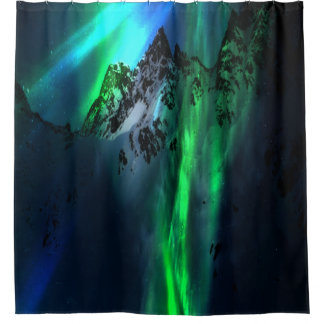 Song of the Mountains Shower Curtain
