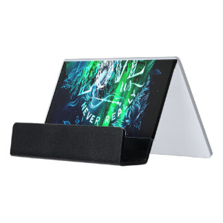 Song of the Mountains The Ones that Love Us Desk Business Card Holder
